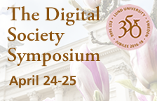 The digital Society Symposium April 24-25, Lund